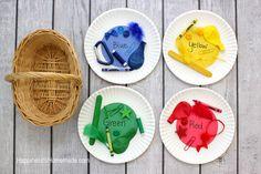 Preschool Color Sorting Educational Activity