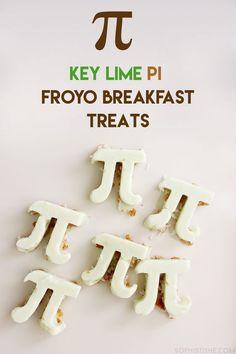 Key Lime Pie Frozen Yogurt Breakfast Treats