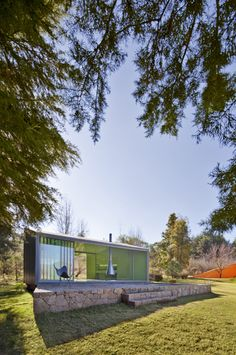 Pavilion in the Woods / Parque Humano