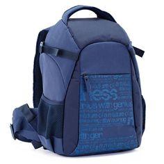 Waterproof Canvas Camera Backpack, Professional DSLR Camera Bag, Travel Backpack S063 - echopurse #DSLRCamera