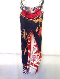 """pantalone """"capri"""" IBRIGU  foulard vintage  ibrigu@libero.it facebook: IBRIGU instagram: IBRIGU"""