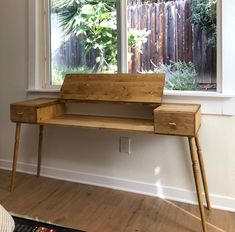 How we built a keyboard desk — That Happy Production Music Desk, Music Keyboard, Piano, Diy Desk, Wood Projects, Storage, Building, House, Inspiration