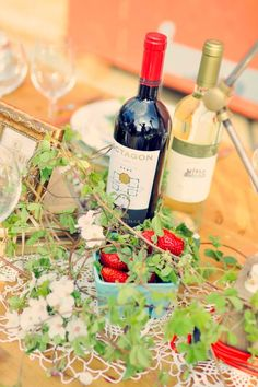 Octagon Wine, Photo courtesy of ~ Joyeuse Photography (Styled Shoot at Rounton Farm ~ with Barboursville Winery)