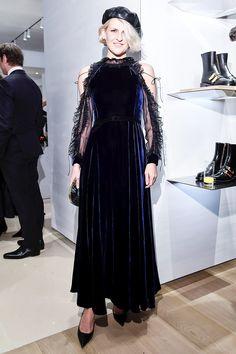 Полина Киценко, Гости открытия бутика Dior в Петербурге