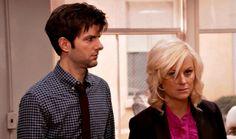 Adam Scott & Amy Poehler (Ben Wyatt & Leslie Knope, Parks & Recreation)