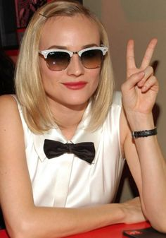 c447a06e92 Bow tie and sunglasses Clubmaster Sunglasses