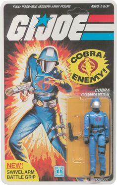 Cobra Commander (v1.5) G.I. Joe Action Figure - YoJoe Archive