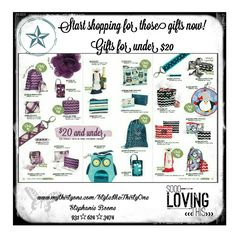 Thirty One Fall 2014! Get those under $20 gifts here.