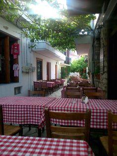 Skiathos, the oldest restaurant.