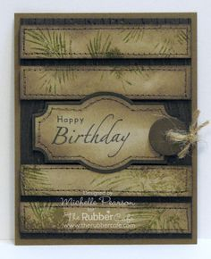 Inspiration Blooms: Pine Bough Birthday