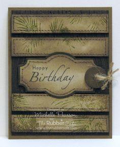 Inspiration Blooms: Pine Bough Birthday