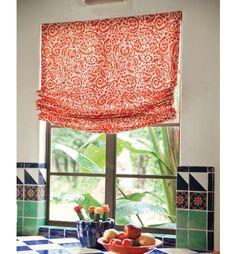Relaxed Roman Fabric Shades - Window Shades, Custom Roman Shades - Smith+Noble