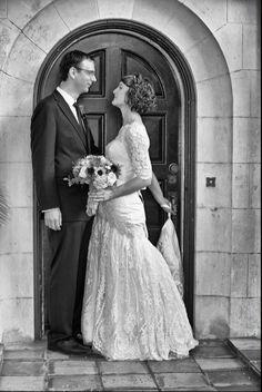 A vintage wedding in Miami 1.26.13 -- bride & groom