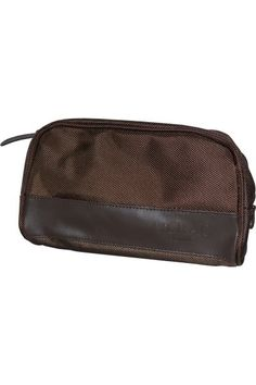dbf2bd4cb0fc Lierac Paris Toiletry Bag Men s Brown is a wonderful travel essential to  keep all your bits