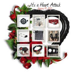 Etsy FRU Heart Attack by cindyanne-mroz-hernandez on Polyvore featuring sanat, supplies, handmade and etsyfru
