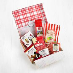 Thoughtful letterbox gifts that can be sent straight through the recipients post box safely and securely! Food Hampers, Gift Hampers, Post Box Gifts, Letterbox Gifts, Gifts For Friends, Gift Wrapping, Treats, Gift Wrapping Paper, Sweet Like Candy