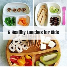 Need lunch ideas? Check out @anutritionisteats for her ideas on how to build a healthy meal for your kids.  My approach to building balanced meals for kids is to include: grain/starch (preferably whole-grain) protein vegetable fruit (at many meals but not all) milk (if requested)