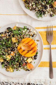 Fiery Fruit & Quinoa Salad from Salad Samurai
