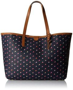 Fossil Sydney East West Hearts Tote