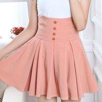 Get High-Waisted Skirt
