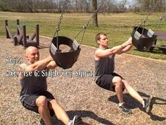 The playground workout. Love this!! It's like a TRX almost!