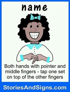 Name in sign language #signlanguageforbabies