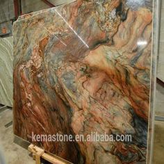 Polished Brazil Fusion Granite slab 1 High quality 2 Factory direct 3 Good price 4 good sevice LOVE the pictures in this CRAFT room! Blue Granite Countertops, Granite Colors, Granite Slab, Kitchen Countertops, Granite Stone, Kitchen Sinks, Farmhouse Style Kitchen, New Kitchen, Kitchen Ideas