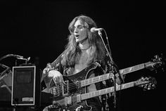 Rush 1978 Tour | Geddy Lee: Rush's Farewell to Kings Tour 1978. That doubleneck had ...