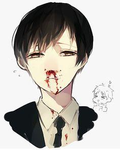 Bloody anime boy Guro Japan Hetalia