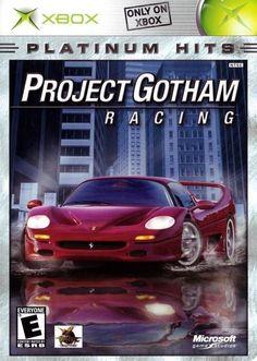 Project Gotham Racing (Microsoft Xbox, 2001) Complete Platinium Hits