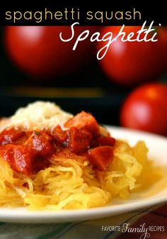 This recipe is so tasty and has NO CARBS.. you may never want to go back to noodles either! #spaghettisquash #squashrecipe