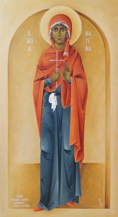 Αγία Μαρινα Catholic Art, Orthodox Icons, Margarita, Collections, Female, Children, Bracelets, Beauty, Ideas