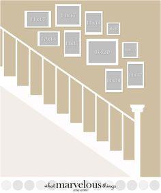 Wand-Display-Vorlagen Uppercross Lane von WhatMarvelousThings