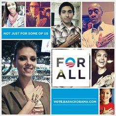 President Barack Hussein Obama....For ALL.