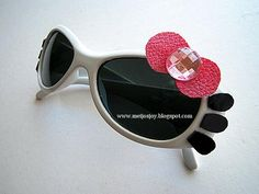 MeiJo's JOY: 5 minutes DIY - Hello Kitty Sunglass