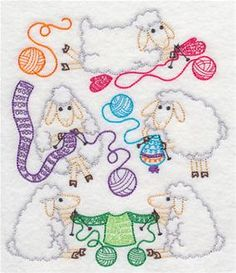 Machine Embroidery Designs at Embroidery Library! - Knitting and Crocheting