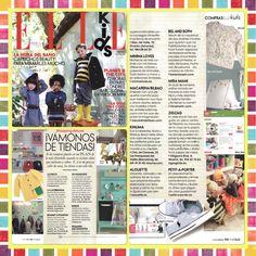 En el 2014 nos hizo muuucha ilusión...  Estar en la edición de la revista @ELLE_SPAIN #ELLEKids #shoppingconclase #shoppingdeluxe  www.miramami.com