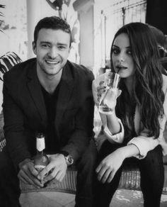 Justin Timberlake & Mila Kunis, Friends with benefits Perfect People, Pretty People, Beautiful People, You're Beautiful, Hello Gorgeous, Amazing People, Beautiful Babies, Amazing Women, Friends With Benefits