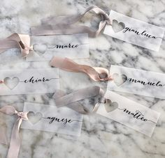 PRE ORDER  Place Cards Wedding place cards Vellum Place