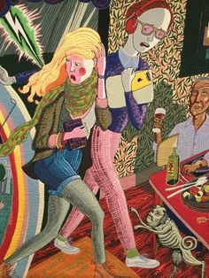 Grayson Perry, detail.