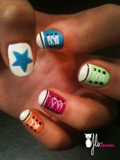 Converse Style :)  http://jlvdesigns.wordpress.com/