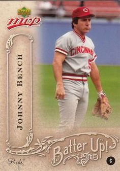 2005 Upper Deck MVP - Batter Up! #BU-20 Johnny Bench | The Trading Card Database