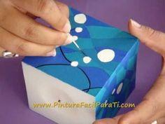 *Paint a Candle* Tutorial Como Pintar Velas 2 - Pintura Facil Para Ti.wmv - YouTube