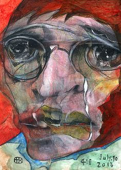 "Takahiro Kimura - The project broken faces"". Arts Ed, My Arts, New Fine Arts, Face Art, 3 Face, Japanese Painting, Outsider Art, Interesting Faces, Beautiful Artwork"