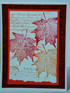 King Designs: Crisp Fall Leaves