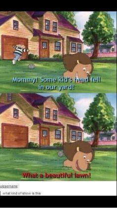 Arthur really is a strange show...