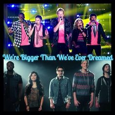 """We're bigger than we ever dreamed"" *cries*"