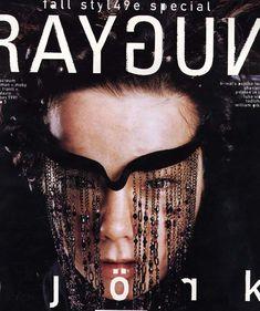 Ray Gun Björk #magazine #cover
