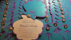The Little Mermaid Invitation by DetallesDJali on Etsy
