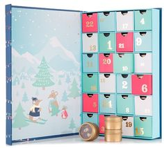 David's Tea Advent Calendar Available Now! - hello subscription Ready for the most anticipated gift of the year? This magical tea-filled advent calendar delivers a delicious new surprise every day. Behind each door hides a single ser Advent Calendar Sale, Advent Calenders, Davids Tea, Chocolate Advent Calendar, Tea Gifts, Food Gifts, 12 Days Of Christmas, Christmas Tables, Nordic Christmas